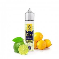 2x LES DUOS Citron Citron Vert 50ML