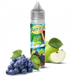 2x GRAPE APPLE V2 50ML
