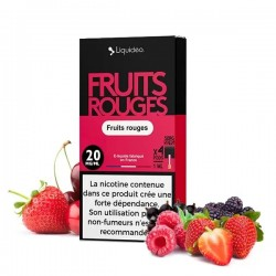 12x Cartouches WPOD Fruits Rouges