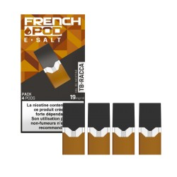 12x Cartouches FRENCH POD TB RACCA