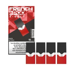 12x Cartouches FRENCH POD FRAISE