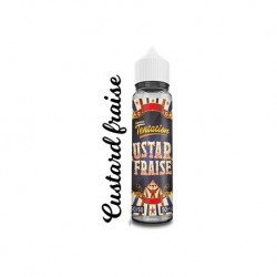 3x Custard Fraise 50ML