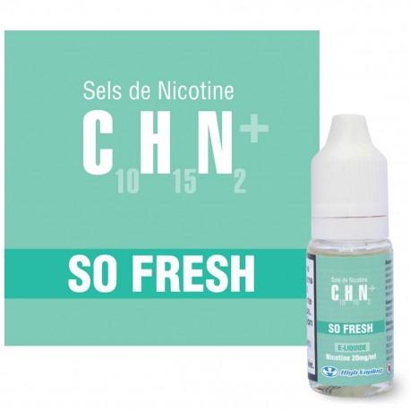 So Fresh CHN High Vaping 10ml
