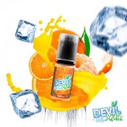 10x DEVIL SQUIZ Orange Mandarine ICE 10ML