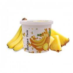 2 boîtes de Ice Frutz Goût Banana Twix (Banane Ananas) 120g