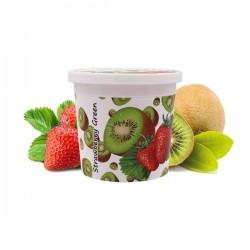 2 boîtes de Ice Frutz Goût Strawberry Green (Kiwi fraise) 120g