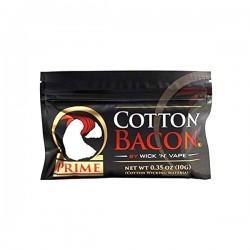 10 Sachets Coton Bacon Prime Wick N' Vape