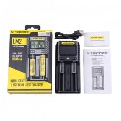 Chargeur UM2 Dual Slot 2A NITECORE