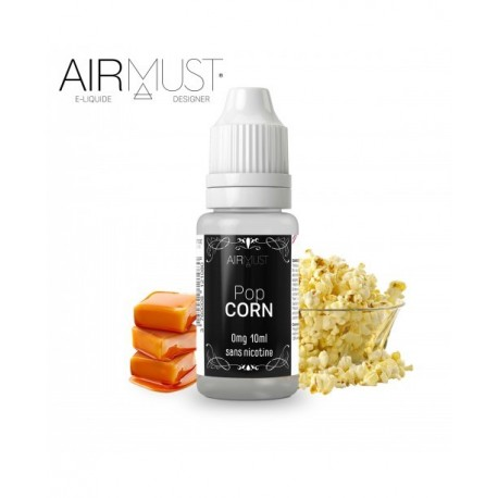 E-LIQUIDE POP CORN AIRMUST BLACK LABEL