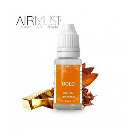 E-LIQUIDE-TABAC GOLD AIRMUST 10ml