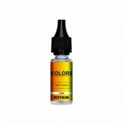 10x KOLORS HAPPY GREEN 10ML