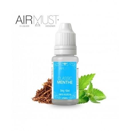 E-LIQUIDE-TABAC CLASSIC MENTHE AIRMUST 10ml