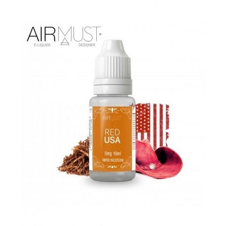 E-LIQUIDE-TABAC RED USA AIRMUST 10ml