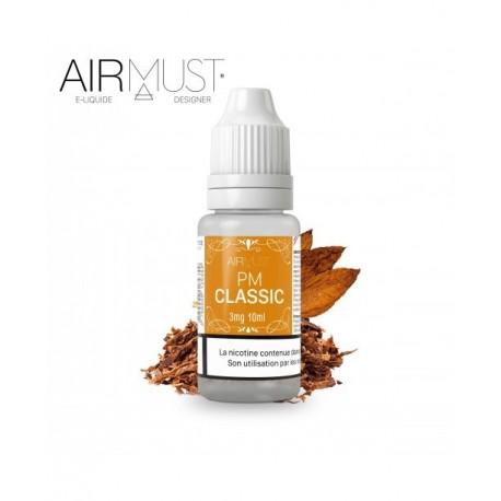 E-LIQUIDE-TABAC CLASSIC PM AIRMUST 10ml