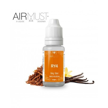 E-LIQUIDE TABAC RY4 AIRMUST 10ml