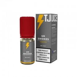 10x T-JUICE UK Smokes N+ NIC SALT 10ML