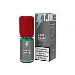 10x T-JUICE Green Kelly N+ NIC SALT 10ML