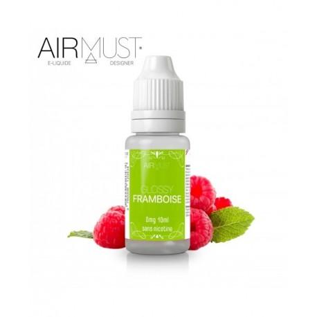 E-LIQUIDE GLOSSY FRAMBOISE AIRMUST 10ml