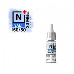 20x Booster Sel de nicotine 20mg 50PG/50VG 10ML