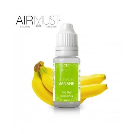 E-LIQUIDE BONBON BANANE AIRMUST 10ml