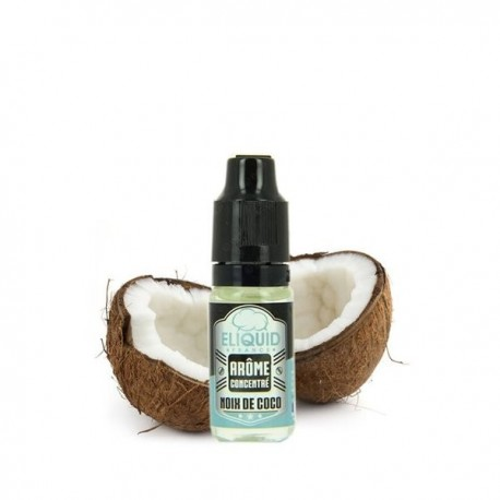 Concentré ELIQUID FRANCE Noix de Coco 10ml