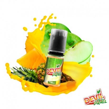 10x DEVIL SQUIZ Pomme Ananas 10ML