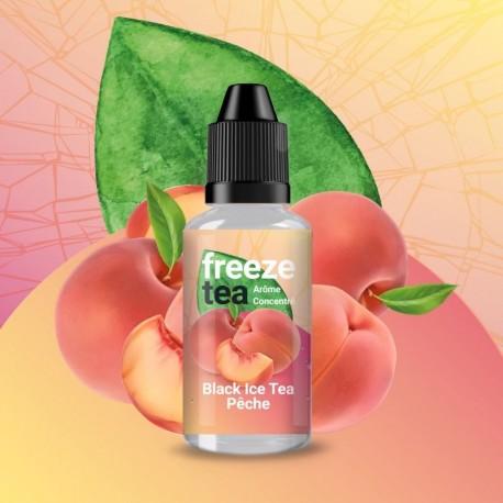 Concentré Freeze Tea Black Ice Tea Peach 30ml