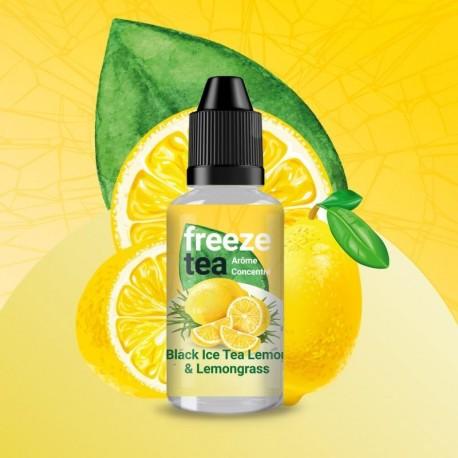 Concentré Freeze Tea Black Ice Tea Lemon & Lemongrass 30ml