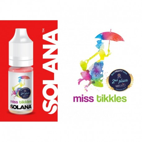10x Miss Tikkles 10ML