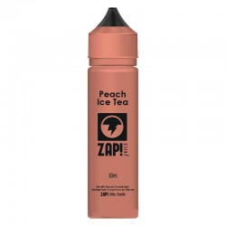 3x ZAP! JUICE PEACH ICE TEA 50ML