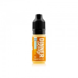 10x Dinner Lady MANGO ICE 10ML