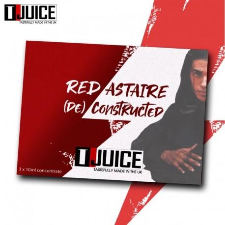 4x Pack de T-JUICE Concentrés Red Astaire (De)Constructed 10ML