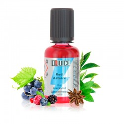 4x T-JUICE Concentré Red Astaire 30ML
