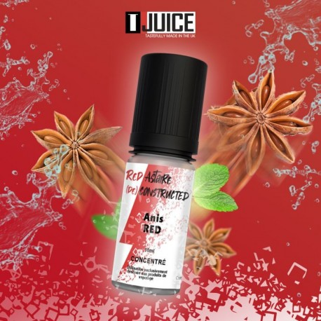 10x T-JUICE Concentré Red Anis 10ML