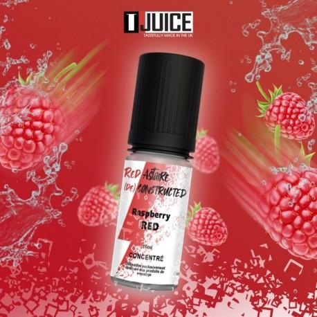 10x T-JUICE Concentré Framboise Red 10ML