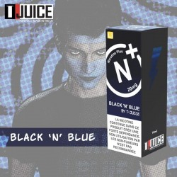 10x T-JUICE Black N Blue NIC SALT 10ML