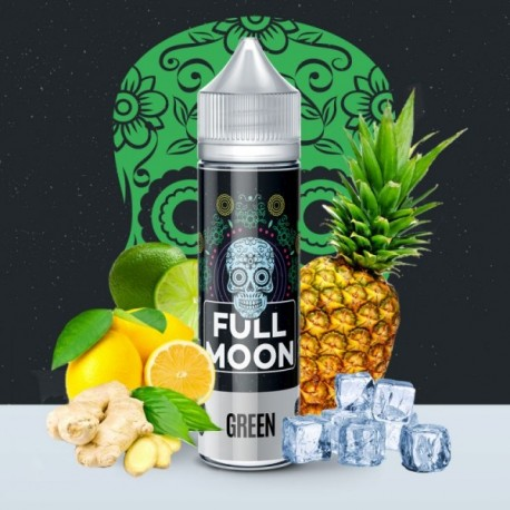 3x FULL MOON Green 50ML