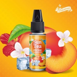 10x Concentré Sun Tea Pêche Hibiscus 10ML