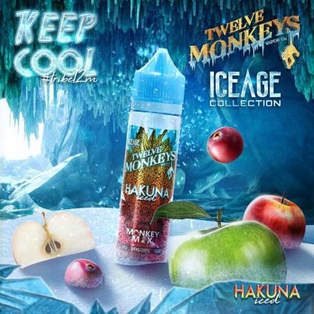 2x Twelve Monkeys ICE AGE HAKUNA ICED 50ML