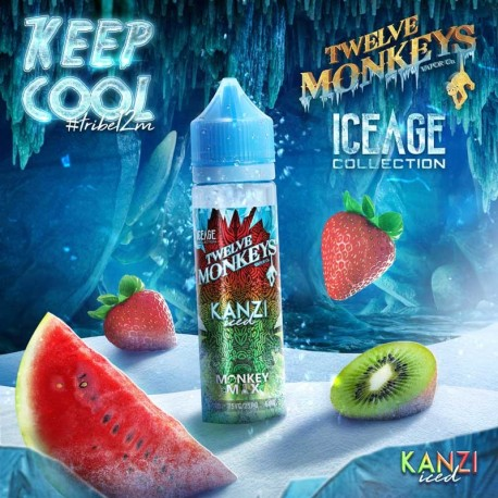 2x Twelve Monkeys ICE AGE KANZI ICED 50ML