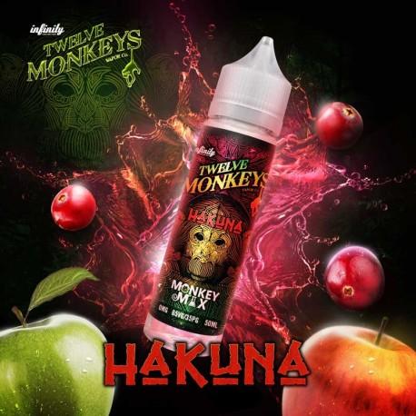 2x Twelve Monkeys HAKUNA 50ML