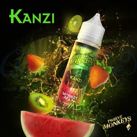 2x Twelve Monkeys KANZI 50ML