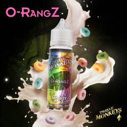 2x Twelve Monkeys O-RANGZ 50ML