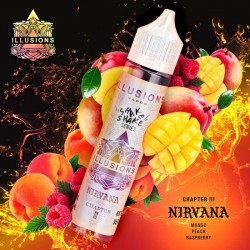 2x ILLUSIONS VAPOR NIRVANA 50ML
