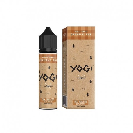 3x YOGI GRANOLA BAR VANILLA TOBACCO 50ML