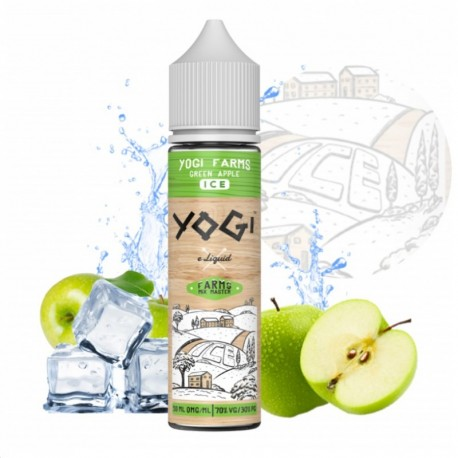 3x YOGI GRANOLA BAR GREEN APPLE ICE 50ML