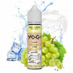 3x YOGI FARMS WHITE GRAPE ICE 50ML