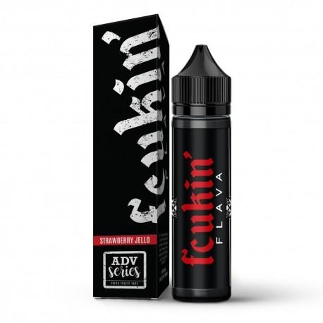 2x Fcukin' Flava ADV Strawberry Jello 50ML