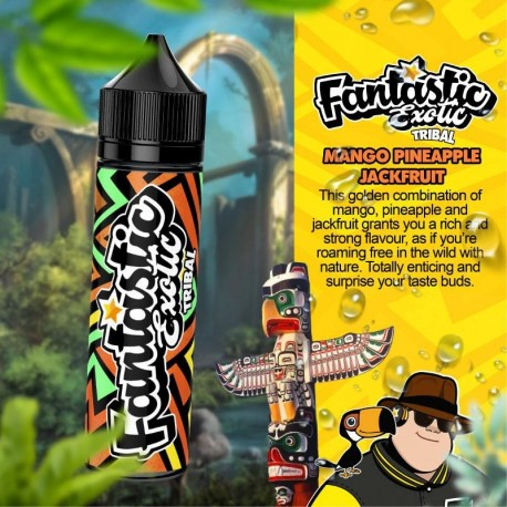 2x FANTASTIC Exotic Tribal 50ML