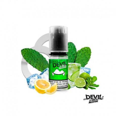 Sel de Nicotine Green Devil 10ml - Les Devils by Avap